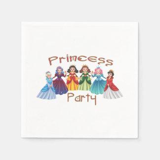 プリンセスの誕生会 スタンダードカクテルナプキン