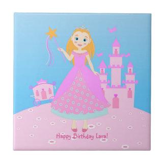プリンセスの誕生会 タイル