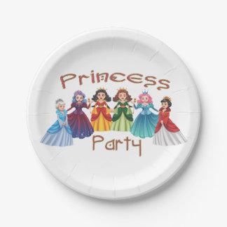 プリンセスの誕生会 ペーパープレート