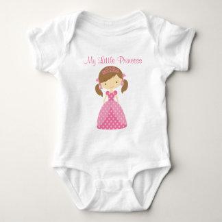 プリンセスの赤ん坊のクリーパー ベビーボディスーツ