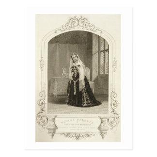 プリンセスカサリン、行為V ScとしてCeleste夫人 ポストカード