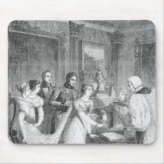 プリンセスシャーロットの結婚の マウスパッド