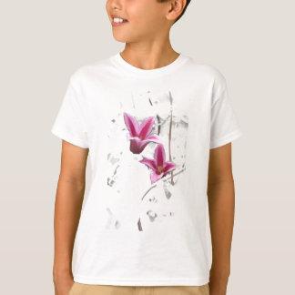 プリンセスダイアナのクレマチス Tシャツ