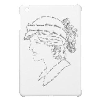 プリンセスダイアナの単語の芸術 iPad MINI カバー