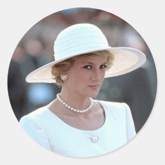 プリンセスダイアナハンガリー1990年 ラウンドシール