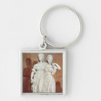 プリンセスルイーズ(1776-1810年)の二重彫像 キーホルダー