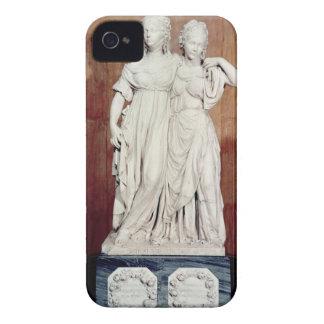 プリンセスルイーズ(1776-1810年)の二重彫像 Case-Mate iPhone 4 ケース