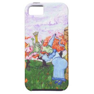 プリンセス牛およびカエル iPhone SE/5/5s ケース