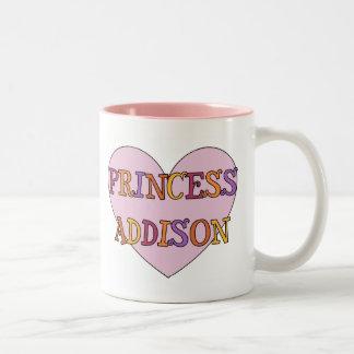 プリンセスAddisonのマグ ツートーンマグカップ