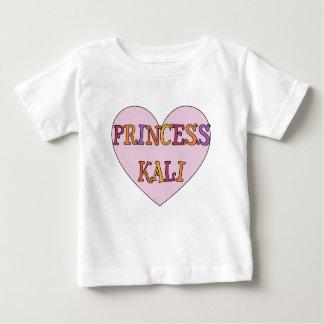 プリンセスKaliのベビーのワイシャツ ベビーTシャツ
