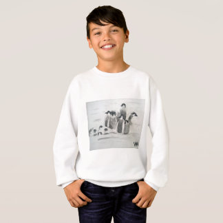 プリンセスToytasticのペンギンの子供のスエットシャツ スウェットシャツ