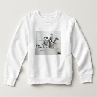 プリンセスToytasticのペンギンの幼児のスエットシャツ スウェットシャツ