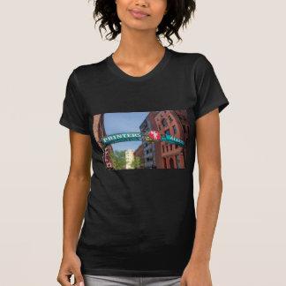 プリンターの細道 Tシャツ