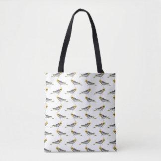 プリントのバッグをくまなくCockatielの逆上(色を選んで下さい トートバッグ