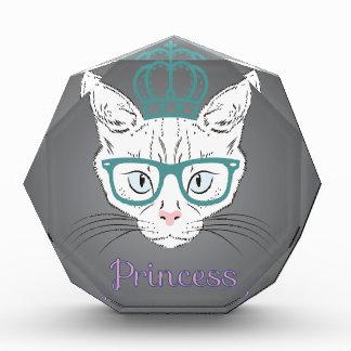 プリントの王女猫 表彰盾