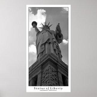 プリント自由の女神 ポスター