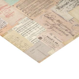 プリント2のヴィンテージ 薄葉紙