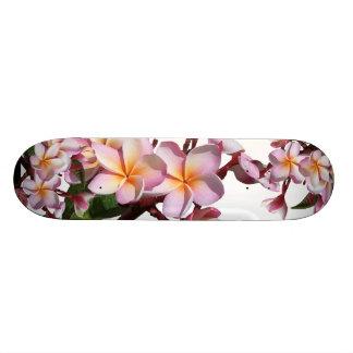 プルメリアの花のスケートボード スケボー