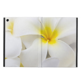 プルメリアの花のハワイのFrangipaniの花柄の花 iPad Airケース