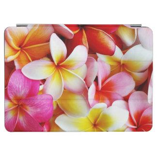プルメリアの花のハワイのFrangipaniの花柄 iPad Air カバー