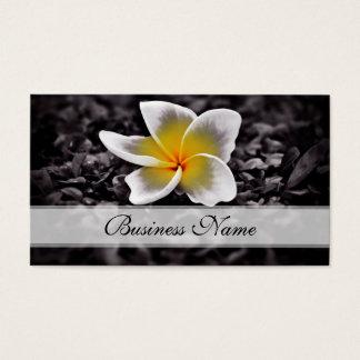 プルメリアのFrangipaniのハワイの花 名刺