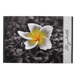 プルメリアのFrangipaniのハワイの花 iPad Airケース