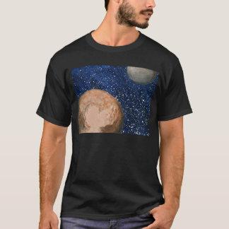 プルートおよびCharon Tシャツ