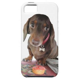 プルートのダックスフントのかわいい顔の電話箱 iPhone SE/5/5s ケース