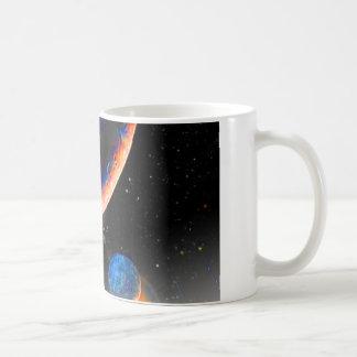 プルートの宇宙のマグ コーヒーマグカップ