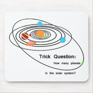 プルートの惑星のトリックの質問 マウスパッド