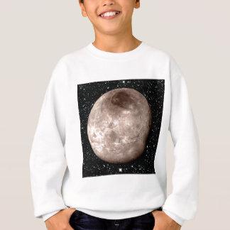 プルートの月CHARONの星の背景(太陽系) スウェットシャツ