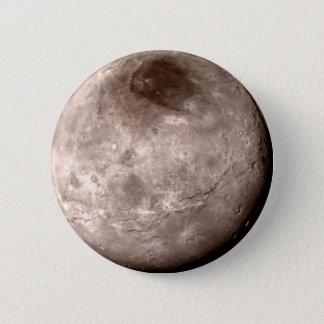 プルートの月CHARON (太陽系) ~.png 5.7cm 丸型バッジ