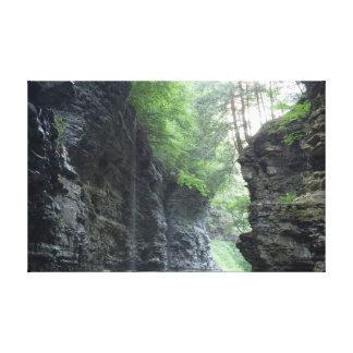 プルートの滝、ニューヨーク キャンバスプリント