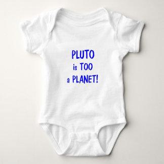 プルートは惑星です ベビーボディスーツ
