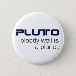 プルートは惑星ボタンです 5.7CM 丸型バッジ