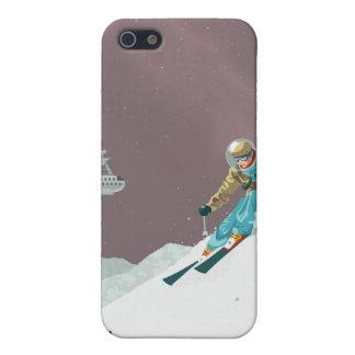 プルートへの宇宙旅行ポスター iPhone 5 COVER