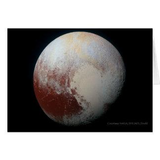 プルート-最も大きい小型惑星 グリーティングカード