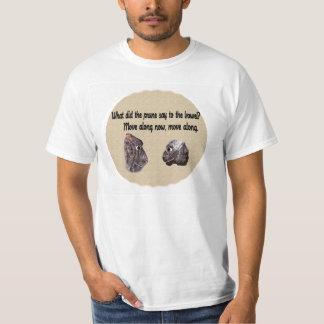 プルーンをした何が言って下さい Tシャツ