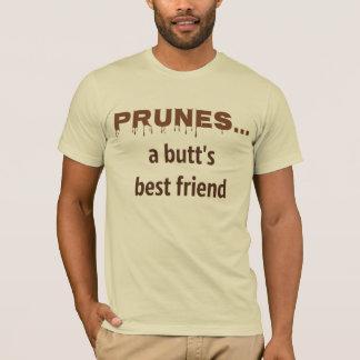 プルーン、お尻で親友 Tシャツ