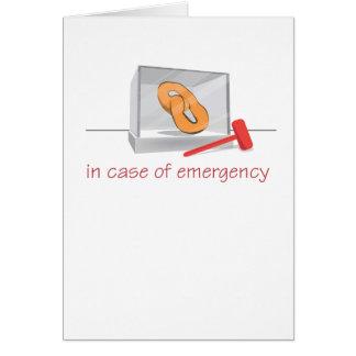 プレッツェルの緊急事態 カード