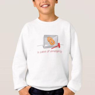 プレッツェルの緊急事態 スウェットシャツ