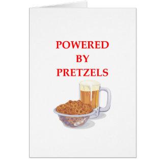プレッツェル カード