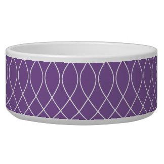 プレッピーな紫色の螺線形