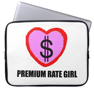 プレミアムレートの女の子のラップトップスリーブ-クレジットカード ラップトップスリーブ