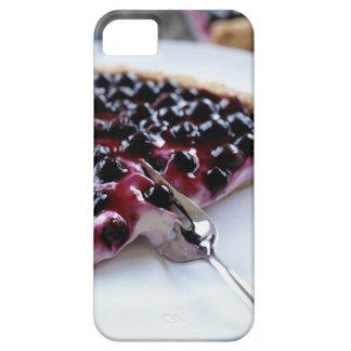 プレートのブルーベリー・パイをスライスするフォーク iPhone 5 Case-Mate ケース