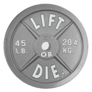 プレート持ち上げますか、または死んで下さい実際のプレート(天才)の45のlbの プレート