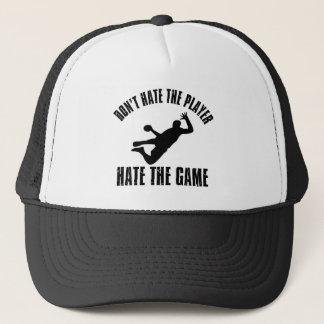 プレーヤーおもしろいな手球のデザインを憎まないで下さい キャップ