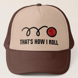 プレーヤーおよびファンのためのBocce球のトラック運転手の帽子 キャップ