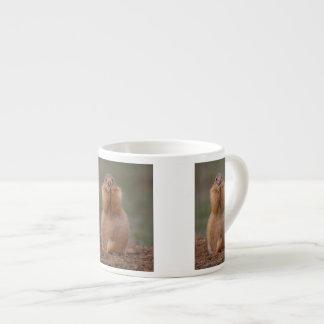 プレーリードッグおよびおもしろいな表現 エスプレッソカップ