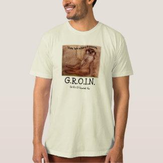 プレーリードッグが付いている穹稜のワイシャツ Tシャツ